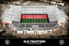 New Manchester United Old Trafford Theatre of Dreams Poster