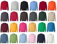 100 Gildan Heavy Blend Crewneck Sweatshirt 18000 S-XL Wholesale Lot of 100