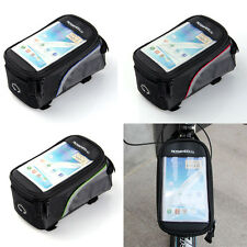 """5.5"""" Bicycle Pannier Front Tube Bag Phone Case for Samsung Note 2 Note 3 USA"""