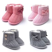 New Lovely Toddler Booties Girls Soft Sole Baby Boots Crib Infant Shoes Colors