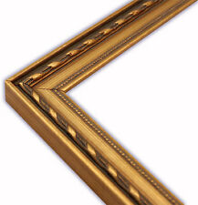 Elegant Gold with Beaded Lip Picture Frame-Solid Wood