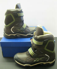 Reebok Youth Canyonaro Earth/Super Neutral/Moss Riptape Thermal Sports Boots