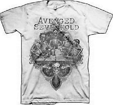 AUTHENTIC AVENGED SEVENFOLD A7X BOTTOMS UP MUSIC ROCK BAND SHIRT S M L XL XXL