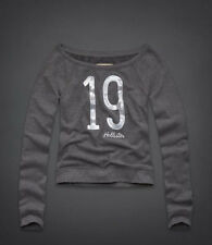 NWT Hollister by Abercrombie Womens Santa Monica Shine Sweatshirt