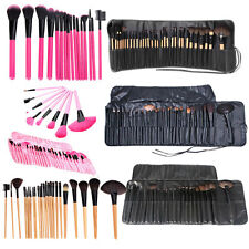 Makeup Brush Set 16/24/32 PCS Pro Cosmetic Make up Brushes Kit + Pouch Bag Case