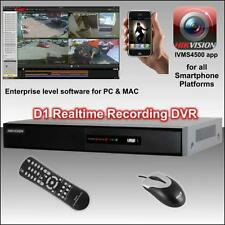 Hikvision 4Ch WD1 (960H) Realtime DVR Smartphone, PC & MAC view, CCTV kit System