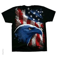 New PATRIOTIC AMERICAN ICON EAGLE T Shirt