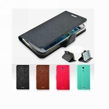 Flip PU Leather Protector Holder Stand Case Cover For Sony Xperia ZR M36h/C5502