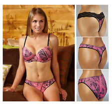 Close-Out SALE!! PINK PADDED BRA SET IN NAKED NORTH CAMO