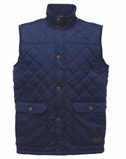 REGATTA RIGBY QUILTED NAVY BLUE GILET BODYWARMER WATER REPELLENT  RMB024