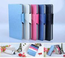 PU Leather Card Holder Case Protector Cover Flip For Sony Xperia Z Ultra ZR Z1