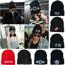 Unisex Men Women Hip-Hop Warm Winter Knit Ball Ski Beanie Skull Cap Hat 48