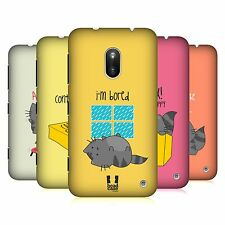 HEAD CASE DESIGNS WILBUR THE CAT PROTECTIVE BACK CASE COVER FOR NOKIA LUMIA 620