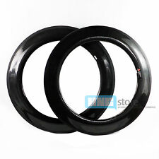 700C Full Carbon Bike Wheels 88mm Wheelset Light Bicycle Tubular Rims