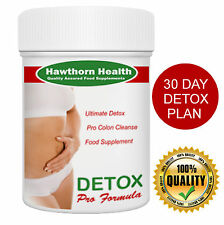 Colon Cleanse - Healthy Detox 30 Day Plan for Diet & Weightloss Detox Tablets,HH
