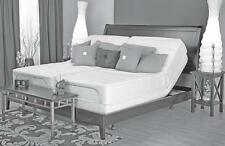 Leggett Platt Prodigy dual King adjustable bed & all Talalay mattress. 8, 9, 10""