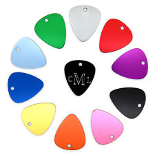 Custom Monogram Personalized Engraved Classic and Colorful Guitar Pick