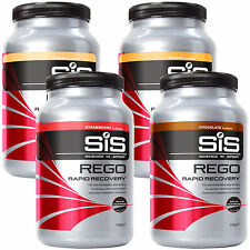 SiS REGO Rapid Recovery Tub 1.6kg For Cycling & All Endurance Sport All Flavours