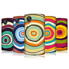 HEAD CASE COLOURFUL TREE RINGS HARD BACK CASE COVER FOR LG GOOGLE NEXUS 5 D821
