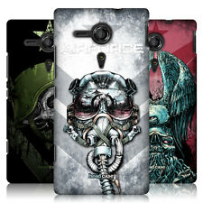 HEAD CASE METAL CHEVRON PROTECTIVE HARD BACK CASE COVER FOR SONY XPERIA SP C5303
