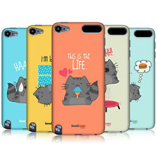 HEAD CASE DESIGNS WILBUR THE CAT BACK CASE COVER FOR APPLE iPOD TOUCH 5G 5TH GEN