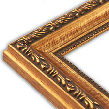 Scrolled Gold Picture Frame-Solid Wood