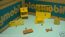 Playmobil 3120 farm 3771 pony stable fence wall seat boat lock stand CHOOSE 156