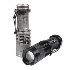 Ultrafire 7W 1200lm CREE Zoomable LED lampe de Poche Torche Flashlight AA/14500
