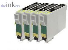 COMPATIBLE BLACK OR YELLOW PRINTER INK CARTRIDGES REPLACE EPSON T0711 & T0714