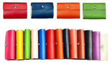 26 FAUX LEATHER WALLET CREDIT OYSTER CARD HOLDER ID BUSINESS CASE PURSE 26 CARDS