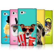 HEAD CASE DESIGNS FUNNY ANIMALS CASE COVER FOR LG OPTIMUS 4X HD P880