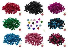 150 x 8mm Aluminium Rose Flower Spacer Beads Embellishments Craft Jewellery - ML