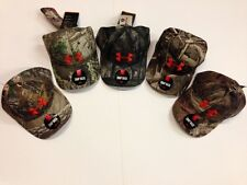 NWT Under Armour Camo Snap Back Hat Cap Realtree, Mossy, Max5, DuckBlind 1238885
