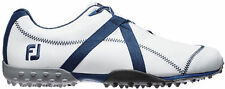 FootJoy M Project Spikeless Golf Shoes White/Navy Closeout Mens 55213 New