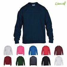 Gildan GD56B Heavy Blend Youth Kids Childrens Crew Neck Sweatshirt