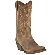 Dan Post Women's Cecilia Cowboy Western Leather Boots All Over Bay Apache DP3548