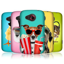HEAD CASE FUNNY ANIMALS PROTECTIVE SNAP-ON HARD BACK CASE COVER FOR HTC DESIRE C
