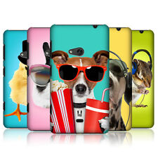 HEAD CASE FUNNY ANIMALS PROTECTIVE SNAP-ON BACK CASE COVER FOR NOKIA LUMIA 625