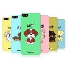 HEAD CASE DESIGNS HAPPY PUPPIES CASE COVER FOR APPLE iPHONE 5 5S