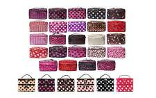 New Women's Cosmetic Case Bag Pouch Portable Travel Beauty Toiletry Organiser