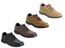 Rockport 'World Tour Classic' Mens Leather Oxfords Shoes 4 Available Colors