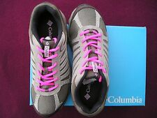 Women's Columbia Whitney Ridge Hiking/running shoes MSRP $64.99 hot pink laces