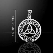 Celtic Trinity Knot Silver Pendant TPD711