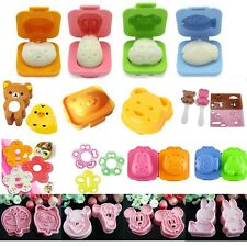 Mixed Decorating Sweet Cute Sushi Bento Rice Egg Bread Sandwich Cutter Molds DIY
