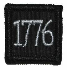 """1776 - 1""""x1"""" Velcro Military Morale Patch"""
