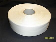 "White 3"" wide large roll acetate fabric, new, soft crafts, modeling, plaster"