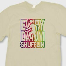 Everyday I'm Shufflin' Electronic Rock T-shirt LMFAO Party Anthem Tee Shirt