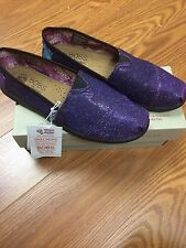 "Women's Bobs ""Inside Track"" By Skechers Shoes/Flats Multi-color Glitter (34958)"