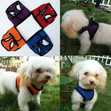 Teacup Chihuahua- Mesh Dog Puppy Vest Harness Puppy Walk Collar Any Size & Color