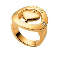 Anello MORELLATO Gioielli HAPPY CHARMS Cuore Diamante Dorato Donna Lady DD
